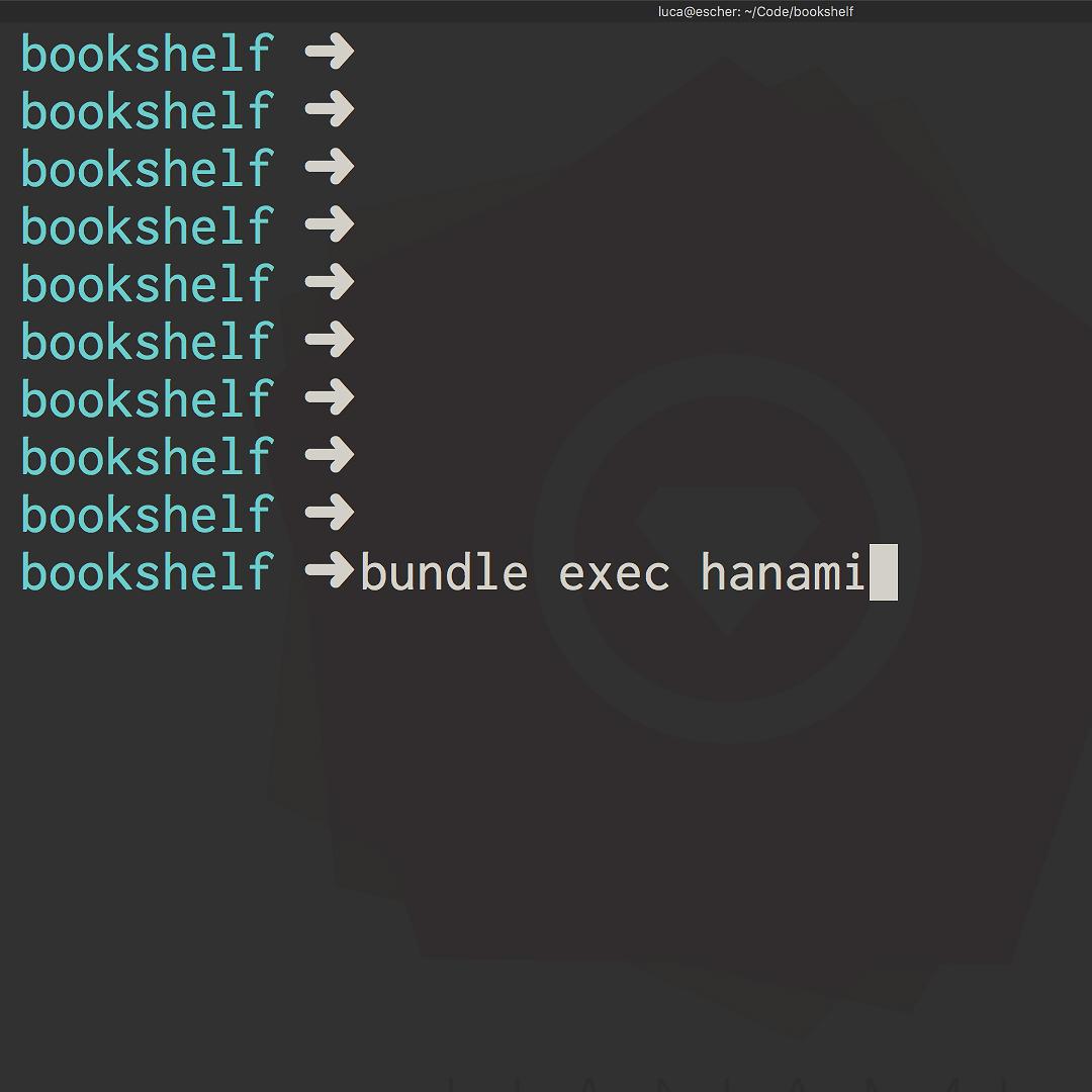 Introducing hanami-cli